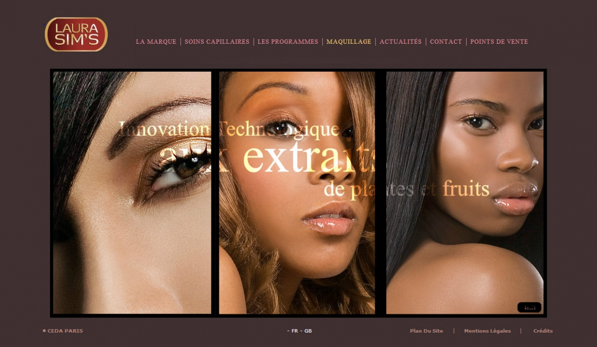 Laura Sims Website With Admin Panel - Web Design
