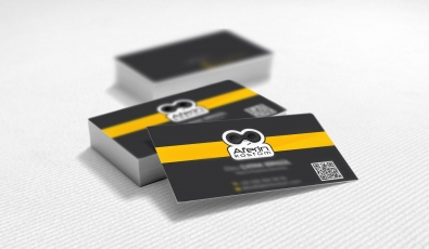 Aferin Kostüm Business Card Design - Grafik Tasarım