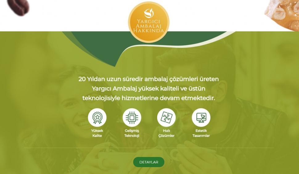 Yargıcı Ambalaj Kurumsal Web Sitesi - Web Tasarımı