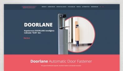 Doorlane Website with Admin Panel - Web Tasarımı