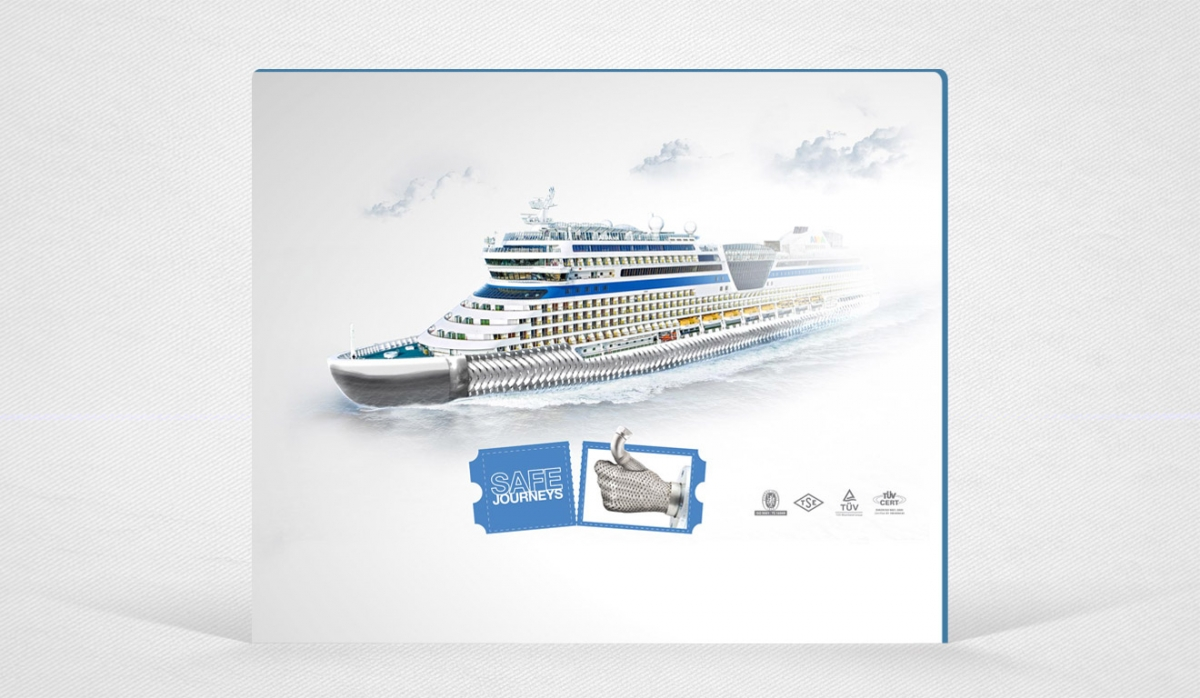 Kuzuflex Metal Hose Advertisement Design - Graphic Design