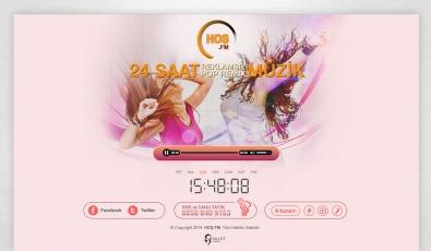 Hoş FM Static Website - Web Tasarımı