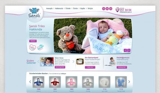 Şanslı Triko Kontrol Panelli Web Sitesi - Web Tasarımı
