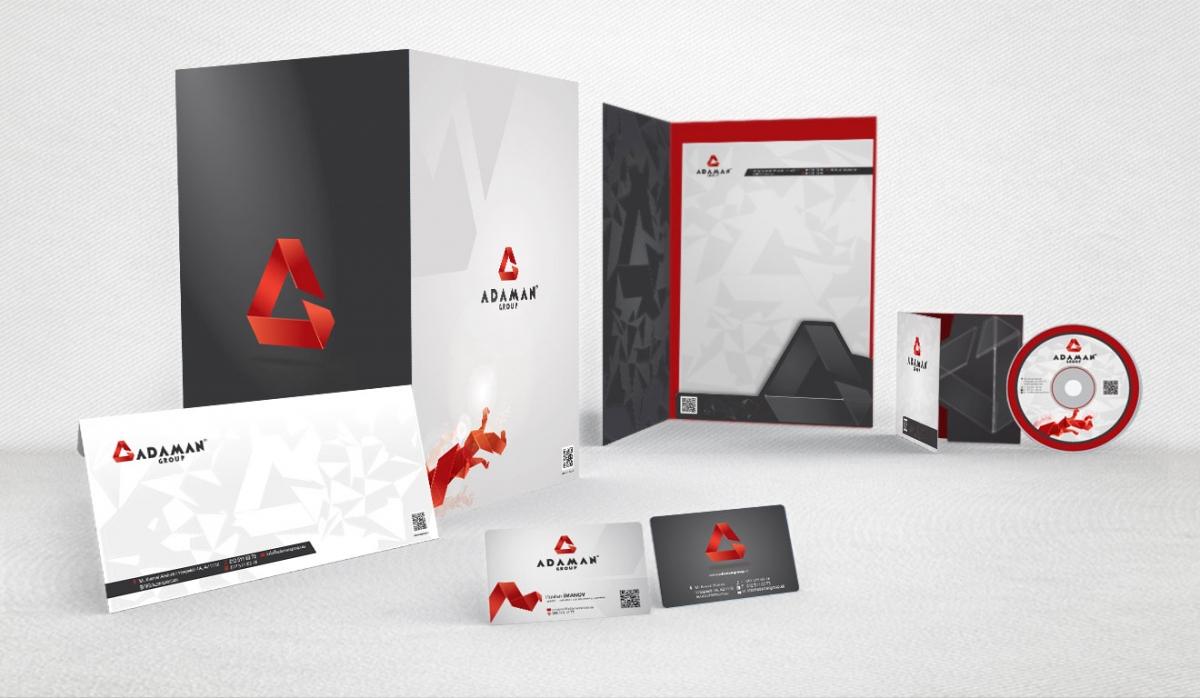 Adaman Group Corporate Identity - Graphic Design