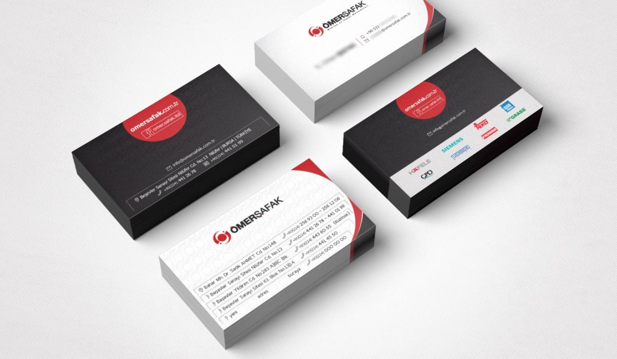 Ömer Şafak Yapı Market Corporate Identity - Graphic Design