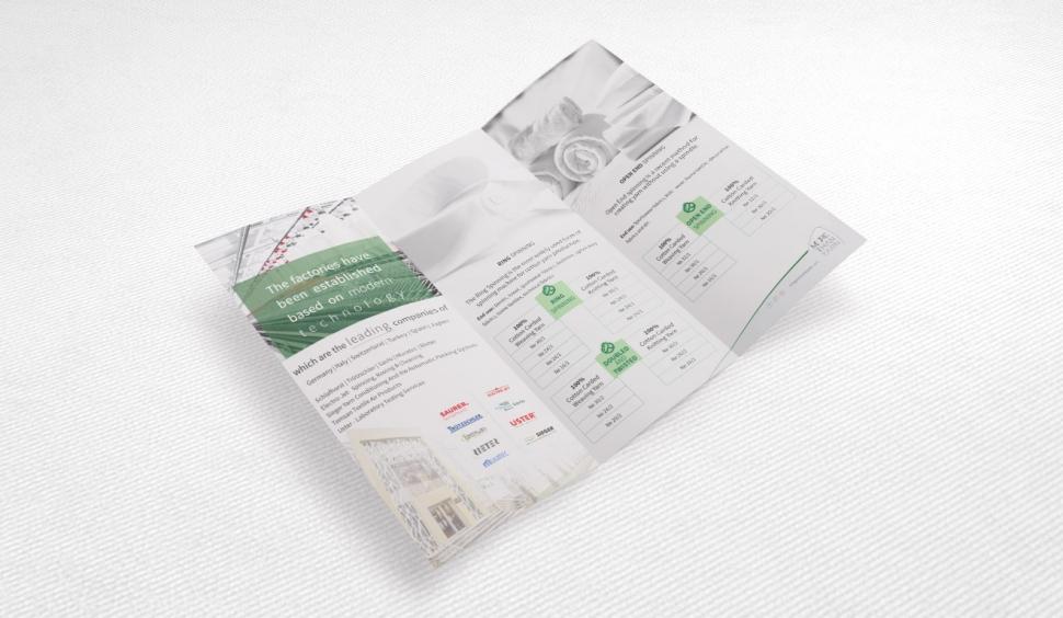 Mingachevir Textile Broşür Tasarımı - Grafik Tasarım