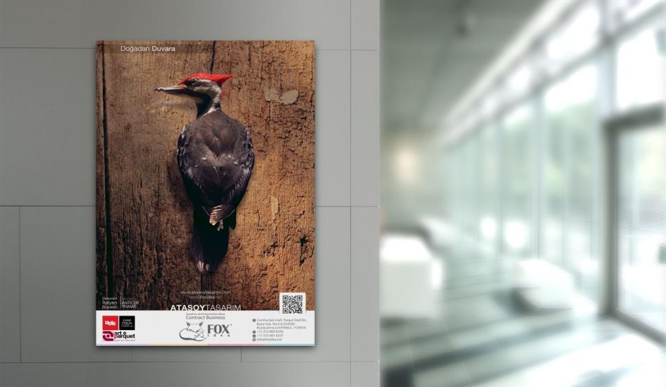 Fox Idea Dergi Reklamı - Grafik Tasarım