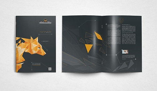 Wolftech Machine Catalog Design - Graphic Design