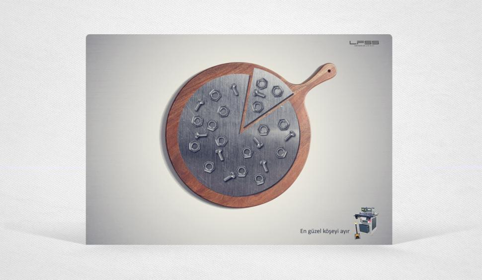 LFSS Şahin Makina İmaj Reklam Tasarımı - Grafik Tasarım