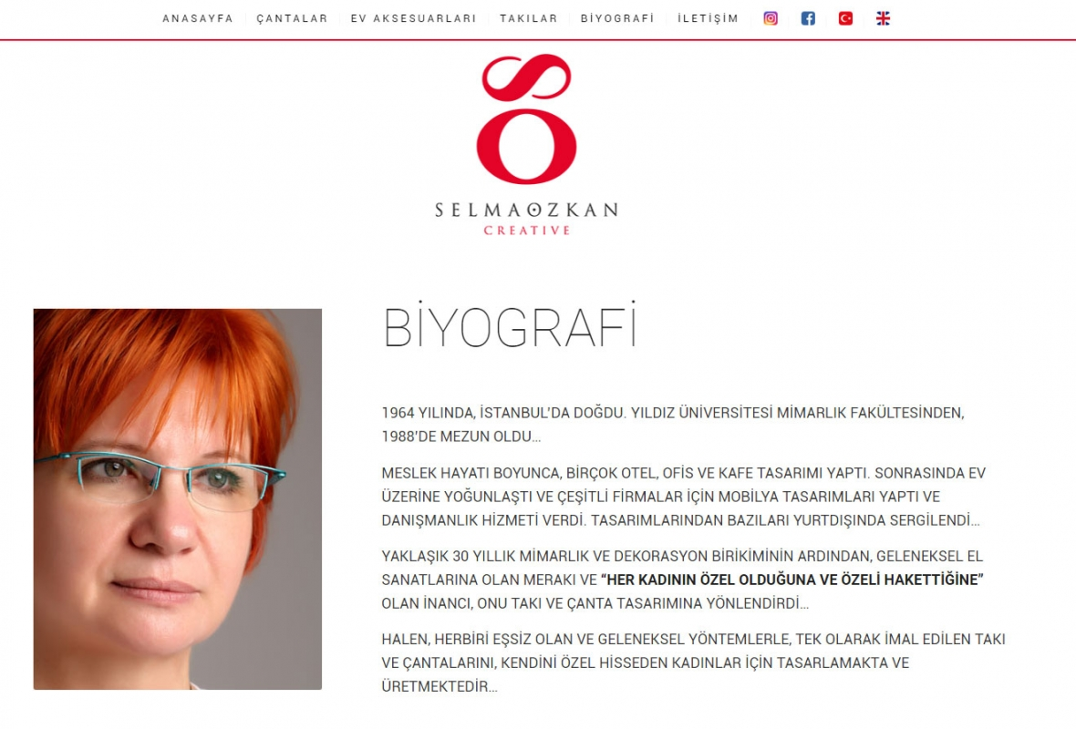 Selma Özkan Creative Website Design - Web Design