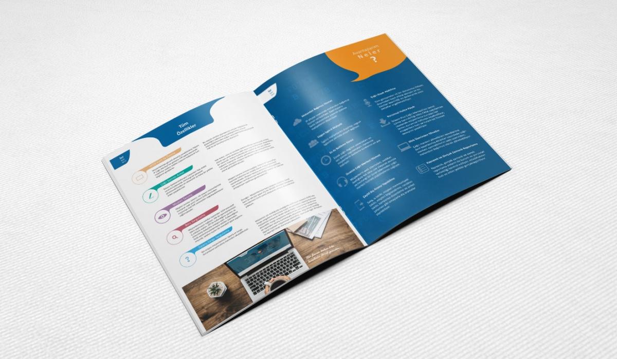 Telsam Telekomunikasyon Brochure Design - Graphic Design