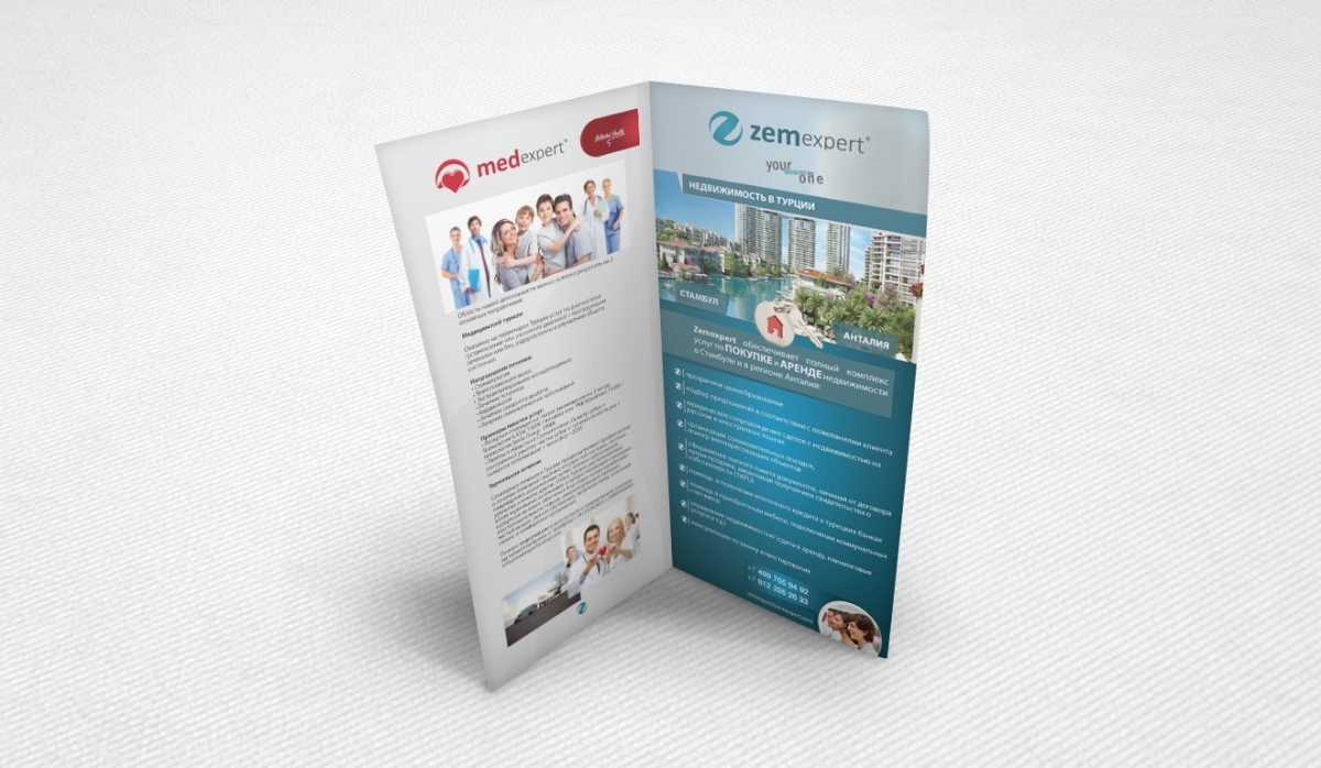 Zem Expert Brochure Design - Graphic Design