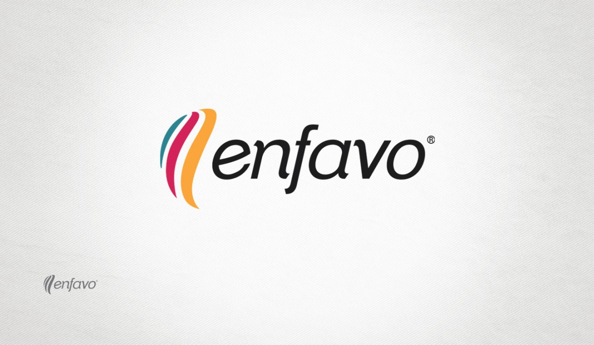 Enfavo Logotype Design - Graphic Design