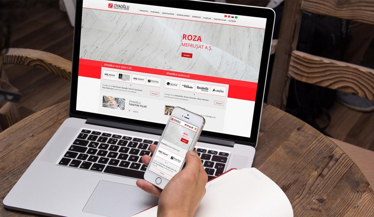 Ziyaoğlu Tekstil Website With Admin Panel - Web Design