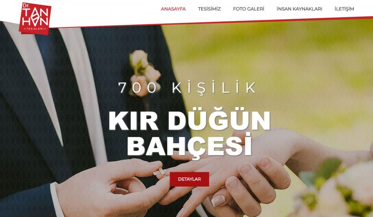 Dr. Tanhan Tesisleri Corporate Website - Web Design