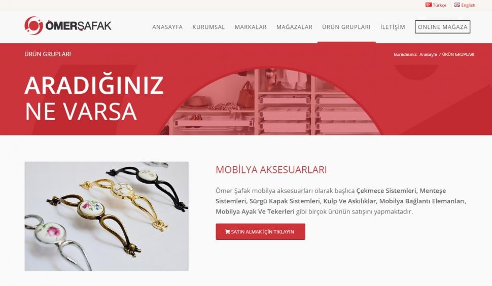 Ömer Şafak Yapı Market Kurumsal Web Site Tasarımı - Web Tasarımı