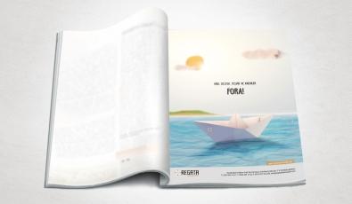 Regata Danışmanlık Dergi Reklam Tasarımı - Grafik Tasarım