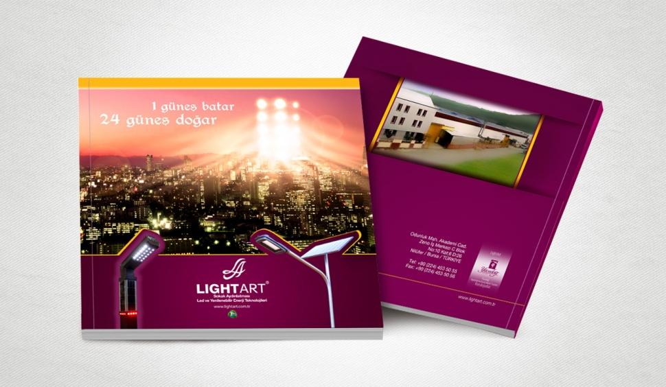 Lightart Aydınlatma Katalog Tasarımı - Grafik Tasarım