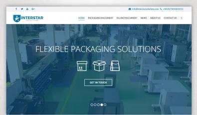 Interstar Solutions Web Site Design - Web Tasarımı
