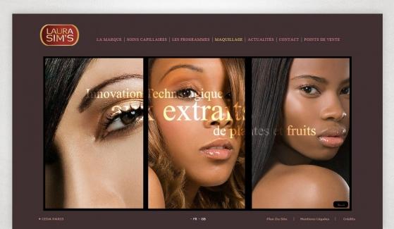 Laura Sims Kontrol Panelli Web Sitesi - Web Tasarımı