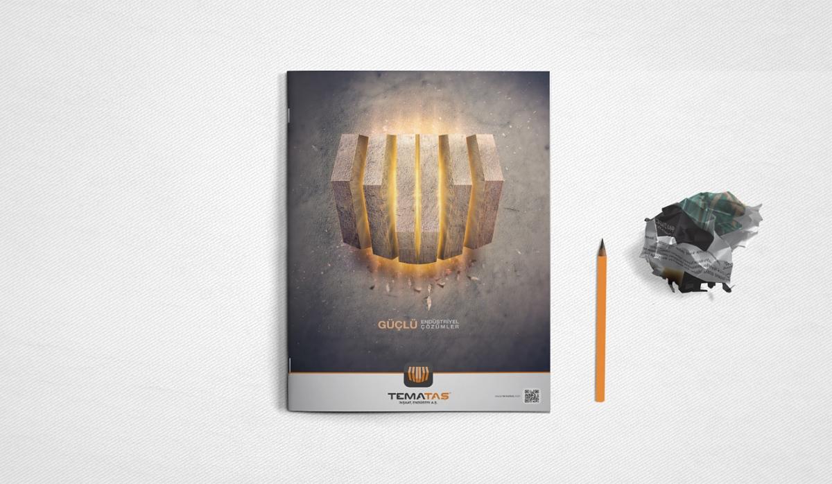 Temataş İnşaat Endüstri Catalog Design - Graphic Design
