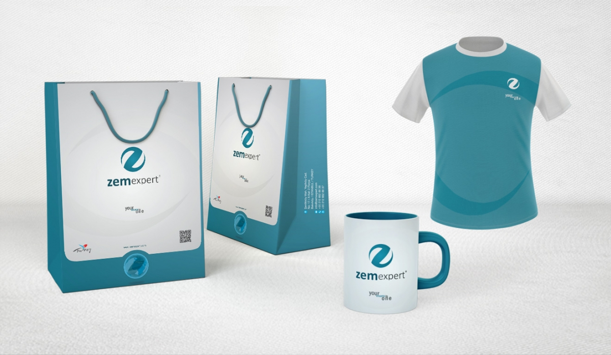 Zem Expert Corporate Identity - Graphic Design