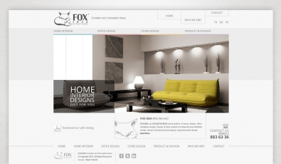 Fox Idea Static Website - Web Tasarımı