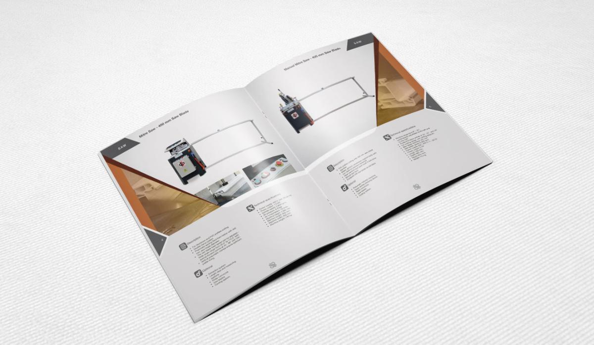 Baertec Makine Catalog Design - Graphic Design