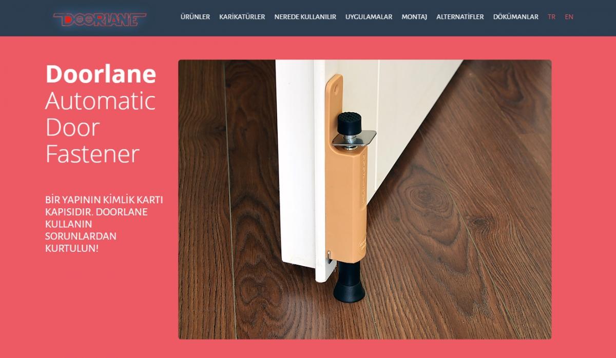 Doorlane Website with Admin Panel - Web Design